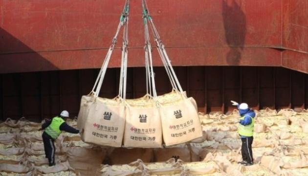 Південна Корея не встигає передати КНДР продовольчу допомогу
