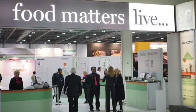 L'Ukraine participera pour la première fois à l'exposition Food Matters Live 2019 à Londres