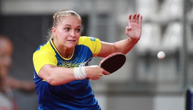 Збірна України поступилася угоркам в 1/4 фіналу чемпіонату Європи з настільного тенісу