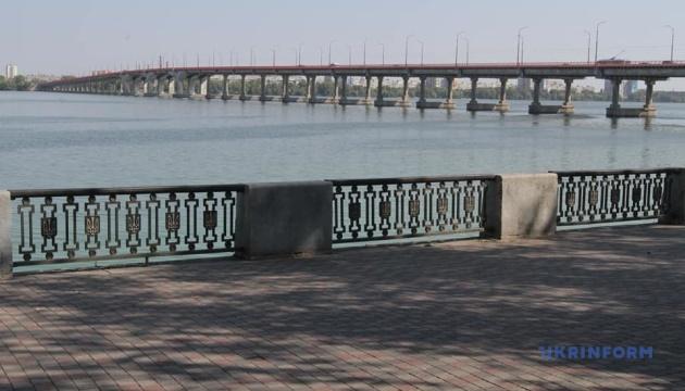 В Днипре открыли Новый мост, по которому заключили пари мэр и Президент