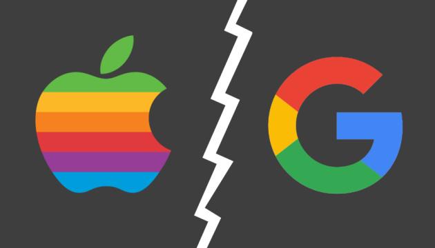 Apple обвиняет Google в