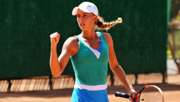 Українська тенісистка Чернишова виграла турнір ITF в Загребі