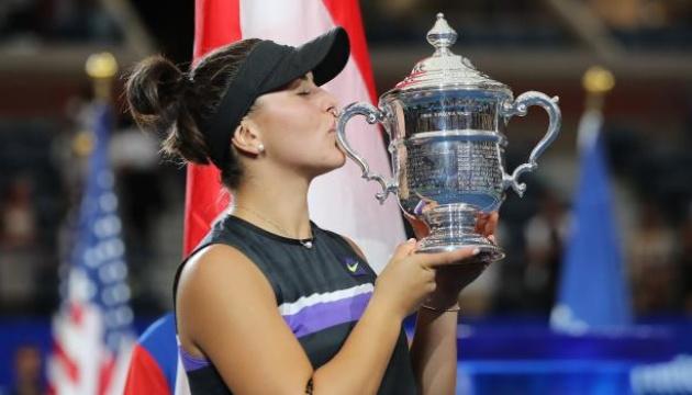 Канадка Андреєску вперше в кар'єрі виграла US Open