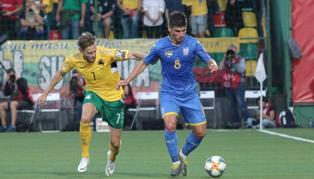 Малиновський став кращим гравцем матчу Литва – Україна – InStat