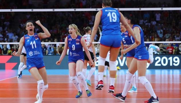 Сборная Сербии стала трехкратным чемпионом Европы по волейболу среди женщин