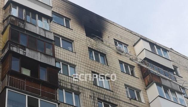 У Києві внаслідок пожежі у багатоповерхівці загинула жінка