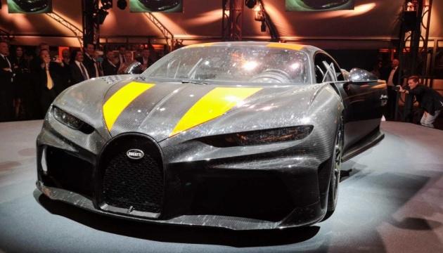 440 кілометрів за годину: Bugatti показала новий суперкар за €3,5 мільйона
