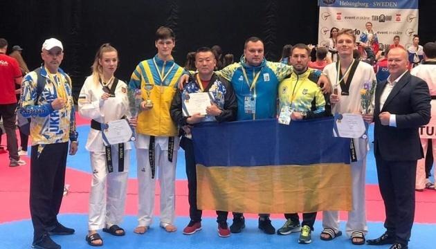 Українські тхеквондисти здобули 5 медалей молодіжного Євро у Швеції