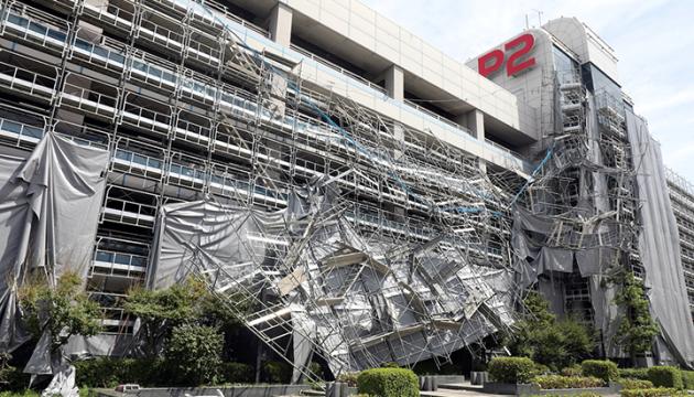 Японию накрыл разрушительный тайфун