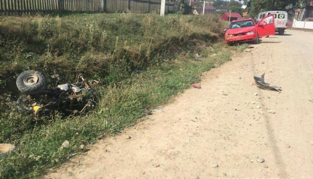 На Буковині п'яний водій легковика збив на смерть дитину