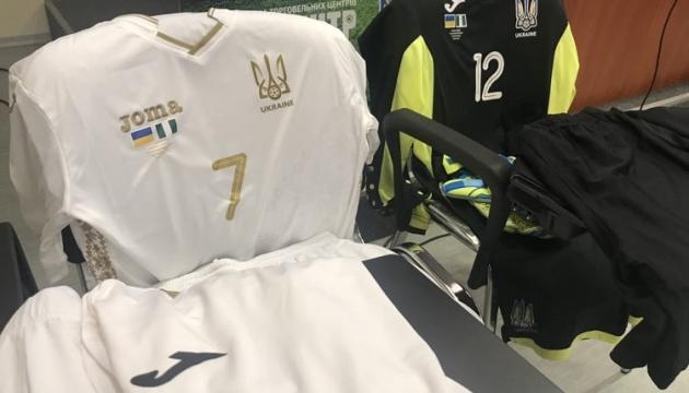 Футболісти збірної України сьогодні вперше зіграють у білій формі