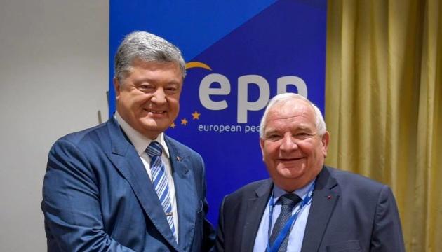European Solidarity party officially joins European People's Party – Poroshenko