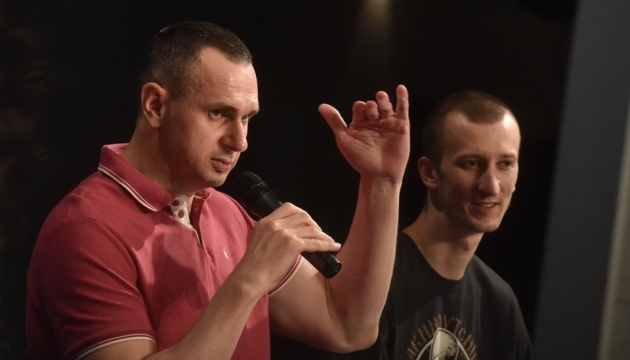 Sentsov: I'll do everything in my power to free other Ukrainian prisoners