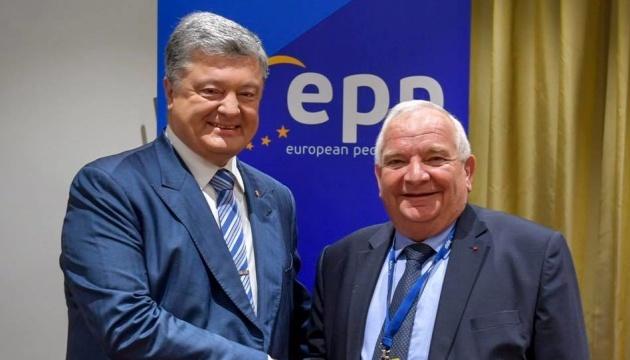 """Poroschenko-Partei """"Europäische Solidarität"""" wird Mitglied der EVP"""
