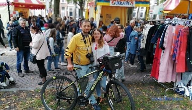 Три тисячі вареників у Нідерландах як спокуса для веломандрівників