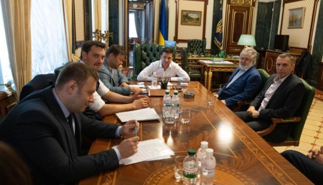 Zelensky meets with Kolomoisky to discuss business, energy
