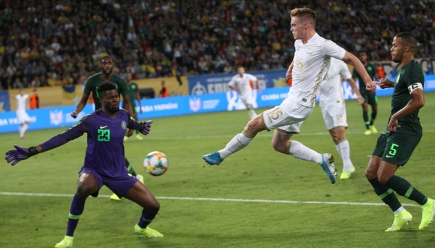 Збірна України врятувала контрольний матч з футболістами Нігерії