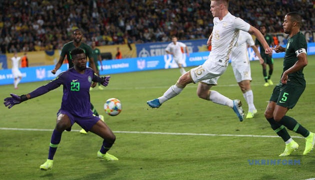 Ukraine draws with Nigeria in friendly