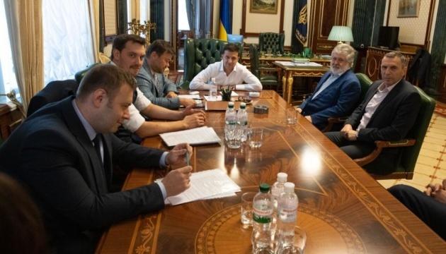 Zelensky se reúne con Kolomoisky para hablar del negocio y la energía