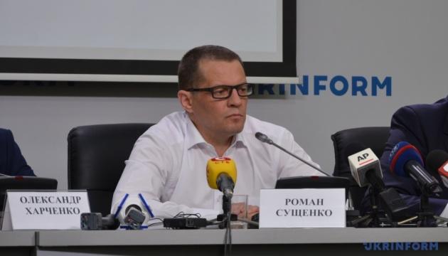 Сущенко розпочав пресконференцію з подяки всім, хто працював над його звільненням