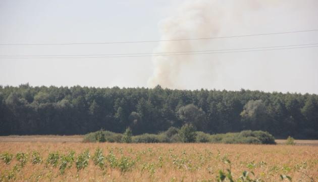 Возле военных складов в Калиновке прогремели шесть взрывов — Минобороны