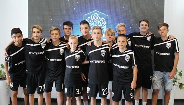"""Донецький """"Олімпік"""" відкрив дитячу футбольну академію в Києві"""