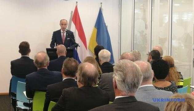 В Нидерландах открыли Почетное консульство Украины