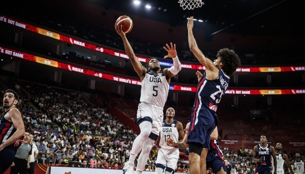 Французи зупинили США у чвертьфіналі чемпіонату світу з баскетболу