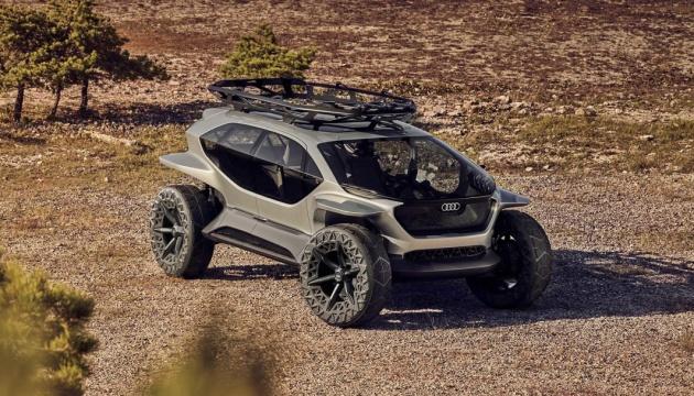 Audi представил электро-внедорожник c дронами вместо фар