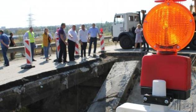 Зруйнований під Харковом міст обіцяють відремонтувати до кінця року