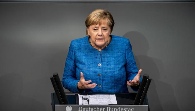 Меркель назвала коронавірус найскладнішим викликом з часів Другої світової