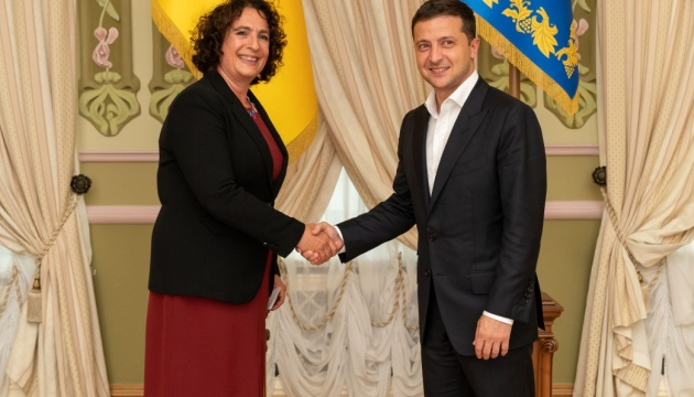 Президент Украины принял верительные грамоты у послов европейских государств