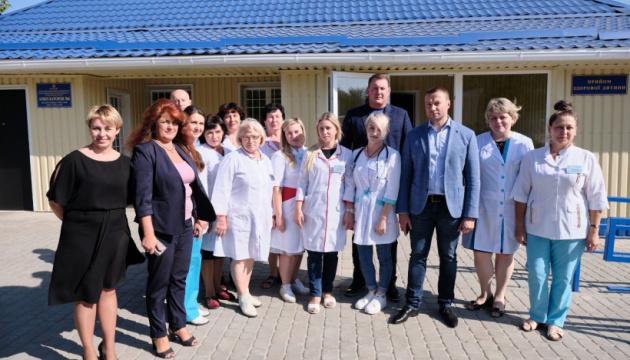 Для селищ Краматорська на Донеччині майже за 3 млн грн оновили амбулаторію