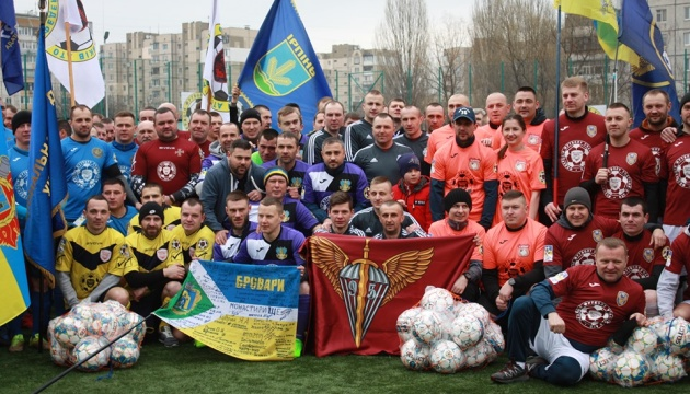 Ліга учасників АТО: завершення сезону в дивізіонах «Захід» і «Центр»