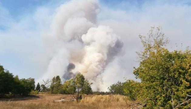 У Чорнобильській зоні горить 14 гектарів лісу