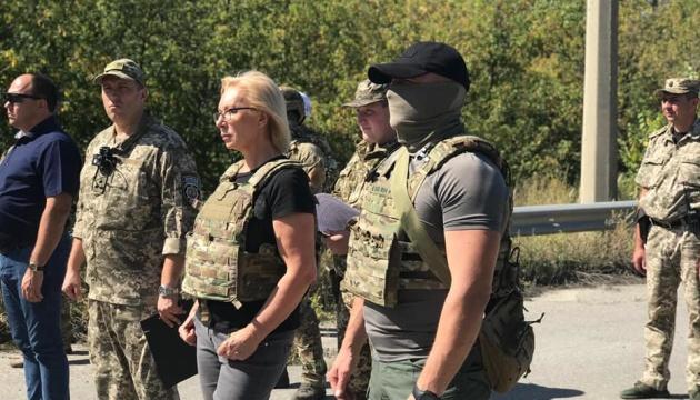 Україні передали ще 54 ув'язнених з ОРЛО — Денісова