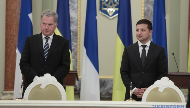 Zelensky warns Niinisto of danger of Nord Stream 2