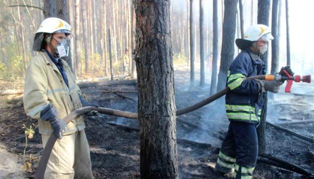 У Чорнобильській зоні ще тліє 10 гектарів лісу