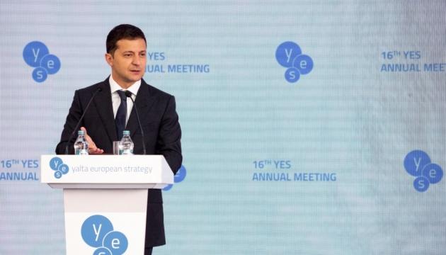 Зеленський заявляє, що дуже обережно ставиться до питання миротворців