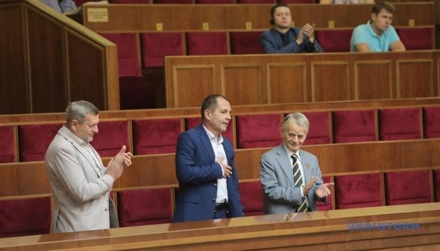 В Раду прийшов колишній політв'язень Кремля Балух