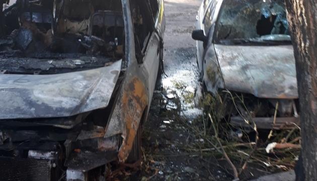 У Черкасах спалили авто секретаря міськради