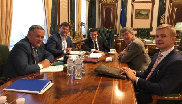 Зеленський зустрівся з Тейлором: США підтвердили стратегічне партнерство з Україною
