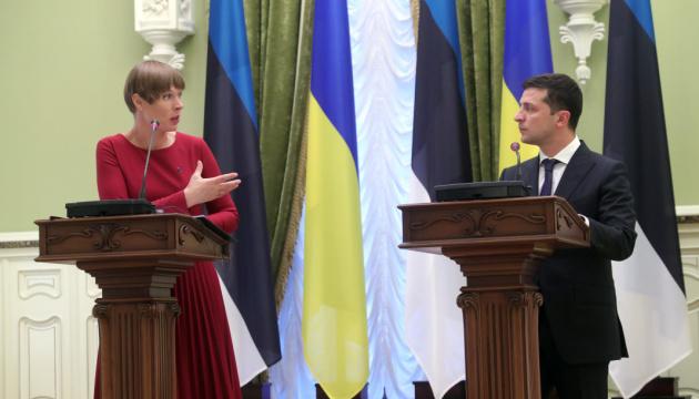 Зеленський у жовтні відвідає Естонію з офіційним візитом