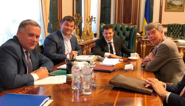 Zelensky: US reaffirms its strategic partnership with Ukraine