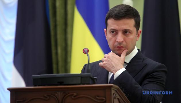 Зеленский: Мы ценим стойкую позицию Эстонии по Крыму и Донбассу