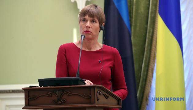 Обмен пленными не может быть ценой суверенитета Украины - президент Эстонии