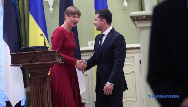 Зеленський: Естонський бізнес уже побачив нові можливості в Україні
