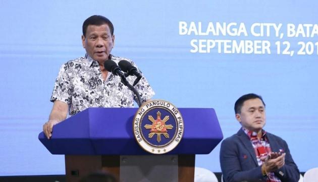 Президент Філіппін дозволив стріляти у корупціонерів