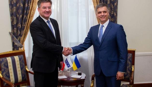ОБСЄ і надалі сприятиме мирному врегулюванню на Донбасі