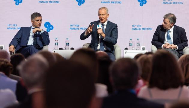 Блэр интересуется образовательными изменениями в Украине